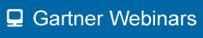 Gartner Webinars