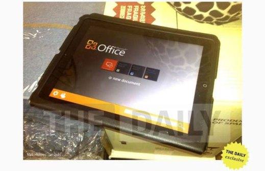 MS office iOS